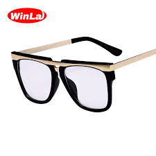 Winla <b>New</b> Design Package High Quality Black Leather <b>Glasses</b> ...