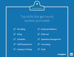 top skills that get hourly workers promoted snagajob skills for promotion