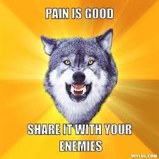 Courage Wolf Meme Generator - DIY LOL via Relatably.com