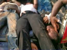 Image result for Nigerian Immigration Service recruitment tragedy in 2014, which led to the death of 19 young job seekers.