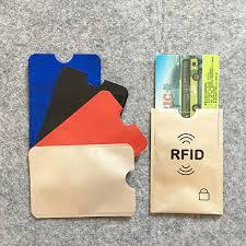 <b>5Pcs</b>/<b>Lot Anti Rfid</b> Colors Blocking Reader Lock Card Holder Id ...