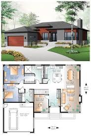 images about Floorplans on Pinterest   Floor plans  Small    Small house   modern simple lines  Total Living Area  Bedrooms