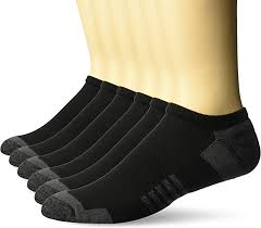 Amazon Essentials Men's 6-Pack Performance Cotton <b>Cushioned</b>