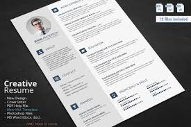 creative resume cv template cover letter and portfolio creative resume cv template cover letter and portfolio