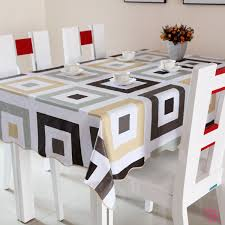 rectangular dining table cover cloth knitted vintage: pvc table cloth plastic disposable waterproof dining table cloth
