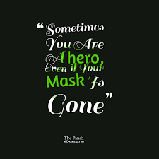 Quotes from Annie Jung: Sometimes You Are A hero, Even if Your ... via Relatably.com