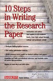 university research paper FAMU Online RECOMMENDED READING FOR WRITING THE RESEARCH PAPER WRITING THE RESEARCH PAPER Colorado State University