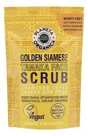 <b>Сиамский cкраб-танака для лица</b> Golden Siamese Tanaca Fece ...