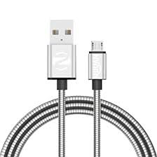 NUUAH <b>Metal</b> Braided Made in India Micro USB Charging Data ...
