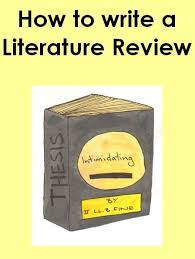 How to Write a Literature Review Pinterest