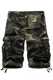 Summer Hot Fashion <b>Camo Printed</b> Ribbon Detail Mens Cotton ...