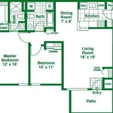 Bedroom Hall Kitchen House Plans   Inspiring Home Ideas    Amusing simple house plan   bedrooms and garage And also index of