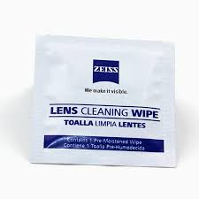 <b>Zeiss Pre moistened Lens Cleaning</b> Wipes for Eyeglass Lenses ...