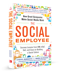 book the social employee blue focus marketing great bran tse front new3d