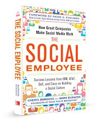 book the social employee blue focus marketing great bran tse front new3d