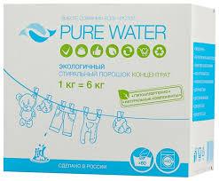 <b>Стиральный порошок</b> PURE WATER <b>Экологичный</b> концентрат ...