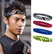 2pcs/lot Yoga <b>Hair</b> Band Women <b>Man</b> Running Nonslip Headwrap ...
