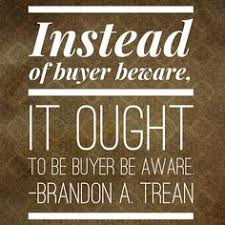 Image result for quotes about buyer beware