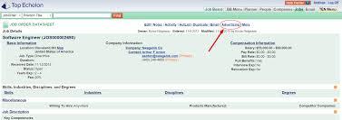 remove a job order from top echelon job postings