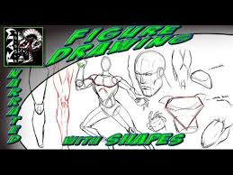 <b>Drawing</b> Lessons - <b>Comic Book</b> Art Style - Breaking Down Shapes in ...