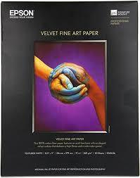 8.5x11 Letter <b>Fine Art Paper Velvet</b> F/Sp2200: Amazon.ca: Office ...