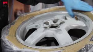 Окраска дисков <b>аэрозольной</b> краской <b>MOTIP</b> - YouTube