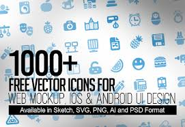1000 free vector icons for web ios and android ui design basic icons flat icons 1000