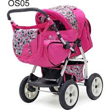 Коляска прогулочная Bart Plast VICTORIA 2016 BKL OS05 розовый