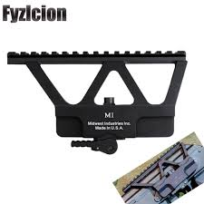 <b>For Hunting AK 47</b> AK 74 Rifle Scope Quick Detach AK Gun Side ...
