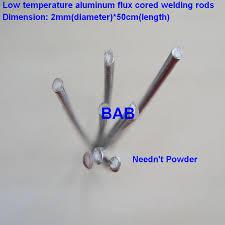 <b>50 PCS</b> 2mm*<b>50cm low temperature</b> aluminum welding rod flux ...