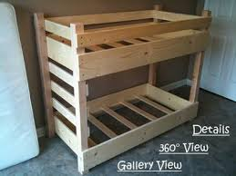 small crib size toddler bunk bed plans bunk beds toddlers diy