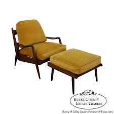 phillip lloyd powell new hope walnut lounge chair ottoman call for pricing bucks county pa estate traditional home office