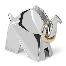 Купить <b>Держатель для колец</b> Origami слон хром, Umbra (арт ...