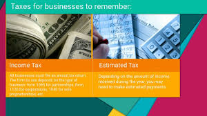 different types of business taxes different types of business taxes