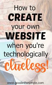 1000 ideas about create your own website how to make a website when you re not web savvy