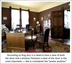 2 ensure your desk is in the right position in a feng shui office bringing feng shui office