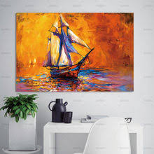 Canvas Wall Art with Frame Sea reviews – Online shopping and ...