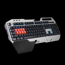 <b>Клавиатура игровая проводная A4Tech</b> Bloody B418 серый ...