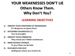 strengths and weaknesses abstract 3 4