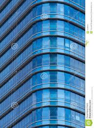 blue glass windows of modern office building blue glass top modern office