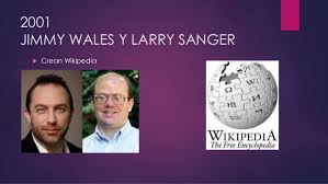 「Jimmy Wales and Larry Sanger」の画像検索結果