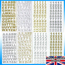 <b>Silver</b> Numbers & <b>Letters</b> Scrapbooking Stickers for sale | eBay