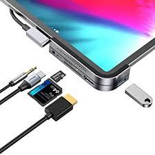 iPad Pro <b>USB C Hub</b>, iPad Pro 2018 <b>Docking</b> Station, <b>Baseus</b> 6-in-1