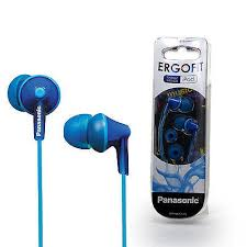 <b>Panasonic RP</b>-<b>HJE125E</b> In-<b>Ear</b> Only <b>Headphones</b> - Blue for sale ...
