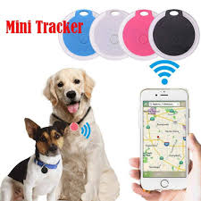 Pet Dog Anti-Lost GPS Tracker <b>Smart Bluetooth Tracer</b> Locator Tag ...