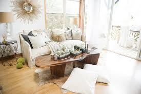 my houzz chic boho style for a hawaii apartment beach style living bohemian style living room