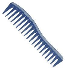 <b>Гребень волна</b> Dewal <b>Beauty</b>, синий, <b>18 см</b> | Купить с доставкой ...