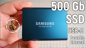 <b>Samsung</b> T5 <b>Portable</b> SSD - 500GB Мой внешний <b>диск</b> - YouTube