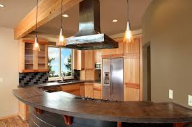 beech wood kitchen cabinets: thumb kitchen contemporary style beech with accent wood light color euro flair curved island counter depth
