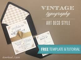 free template vintage wedding invitation with art deco band Free Printable Wedding Cards Download Free Printable Wedding Cards Download #25 free printable wedding invitations templates downloads
